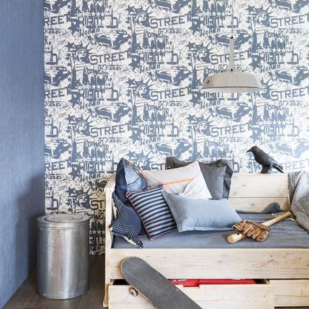 nuevas tendencias para decorar con papeles pintados. Black Bedroom Furniture Sets. Home Design Ideas