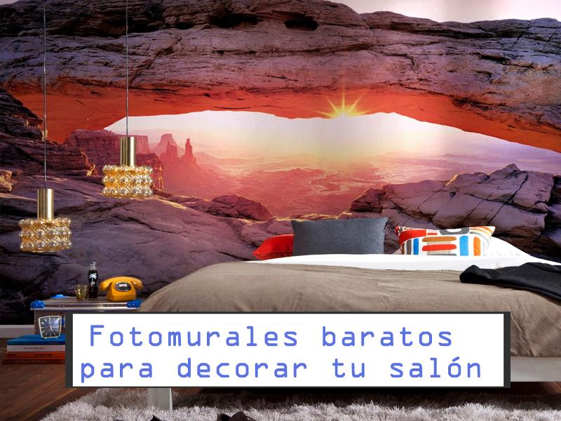 Fotomurales baratos para decorar tu sal n comprar for Fotomurales baratos online