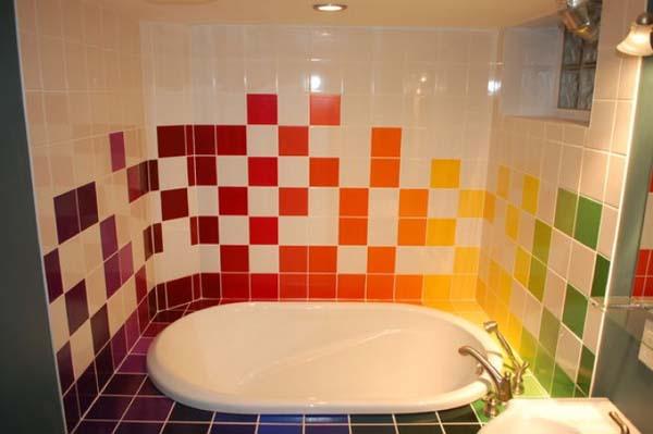 Azulejos Para Baños Ofertas:colores cálidos que podemos encontrar para una pintura para azulejos
